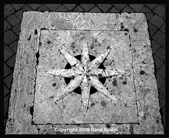 Drain Cover, Spanish Steps, 2009