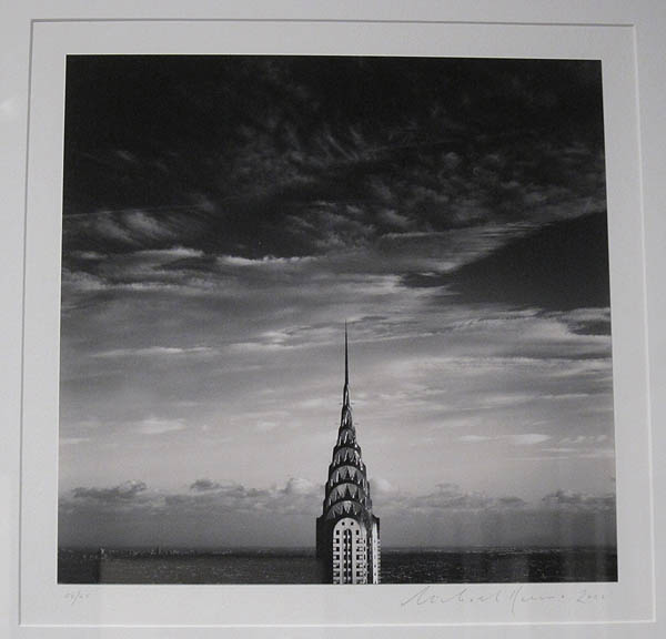 """Michael Kenna's """"Chrysler Building"""" at Halsted"""