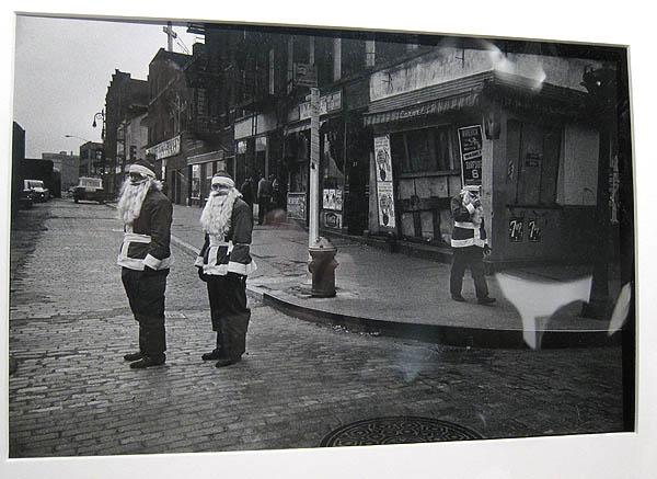 Susan McCartney's Sidewalk Santas at Vintage Works