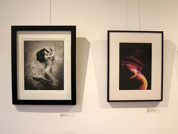 Prints by Scott Nichol (left) and Bert Halstead