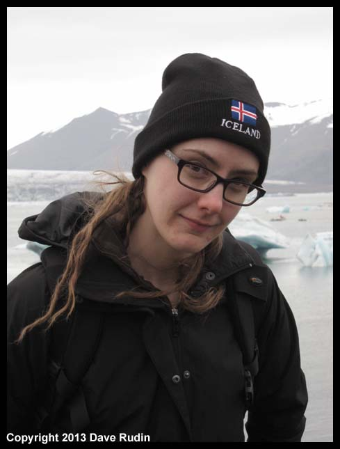 Brooke at Jokulsarlon