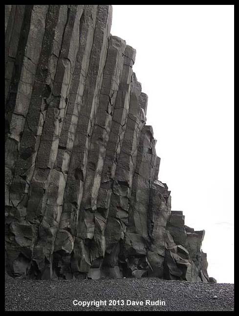 Columnar basalt near Vik