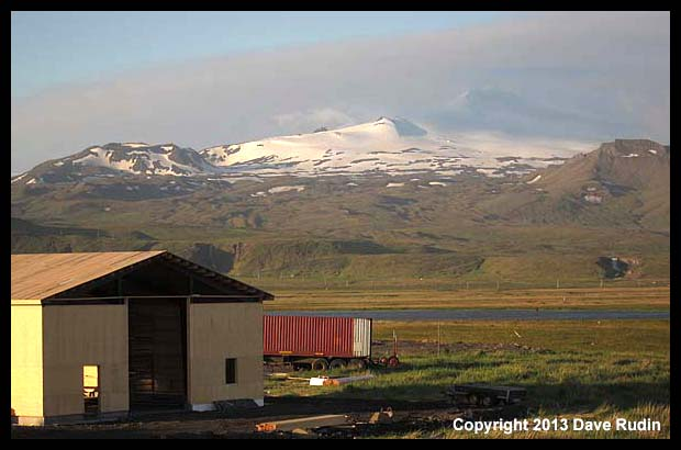 Snaefellsjokull - the place to journey to the center of the earth
