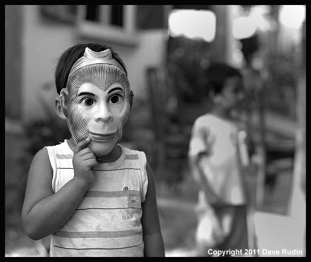 Monkey Mask, Vietnam, 2011