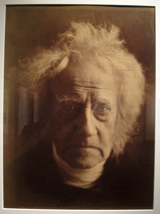 Julia Margaret Cameron's  portrait of Sir JFW Herschel at Hans P. Kraus Fine Photographs