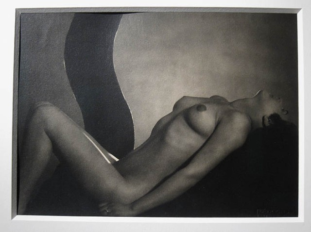 A nude by Frantisek Drtikol at Howard Greenberg Gallery