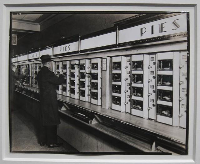 """Automat, 1936"" by Berenice Abbott at Michael Shapiro Photographs"