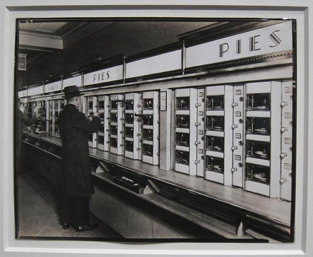 """Automat, 1936"" by Berenice Abbott at Michael Shapiro Photographs"