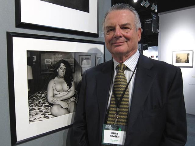 Burt Finger of Photographs Do Not Bend Gallery