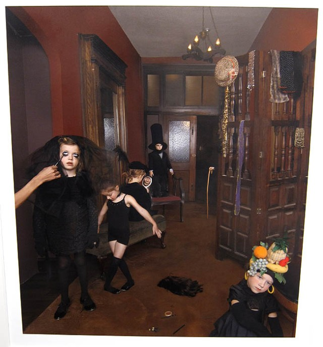 "Julie Blackmon's ""Dress Rehearsal, 2013"" at Robert Mann Gallery"