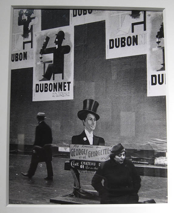 """Dubo, Dubon, Dubonnet"" by Andre Kertesz at Stephen Daiter Gallery"