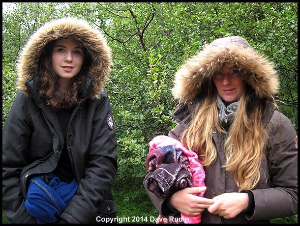 Svala (left) and Katla