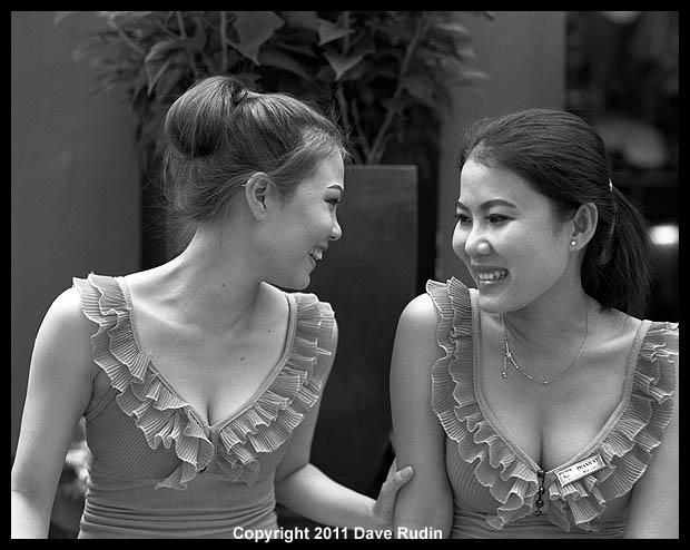 3155_09 - Two Young Women, Saigon