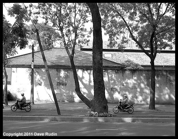 Riders and Trees, Saigon, 2011