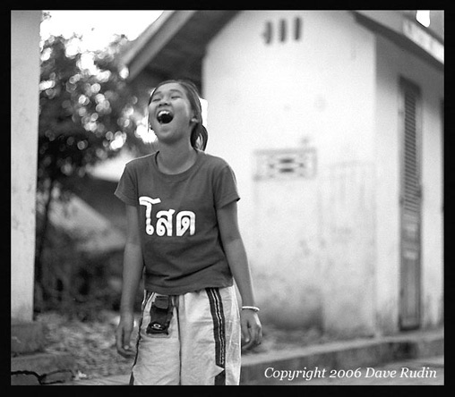 Laughing Girl, Luang Prabang, Laos, 2006