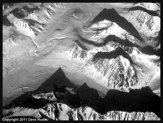 Shadows and Peaks, Alaska, 2011
