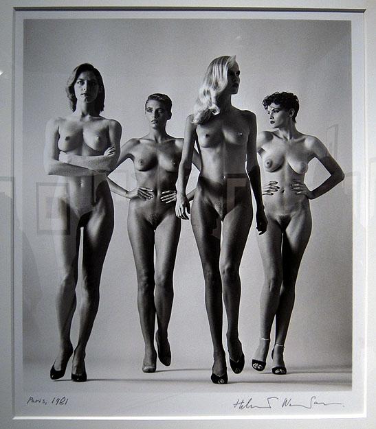 """Helmut Newton's """"Sie Kommen"""" at Fahey-Klein"""