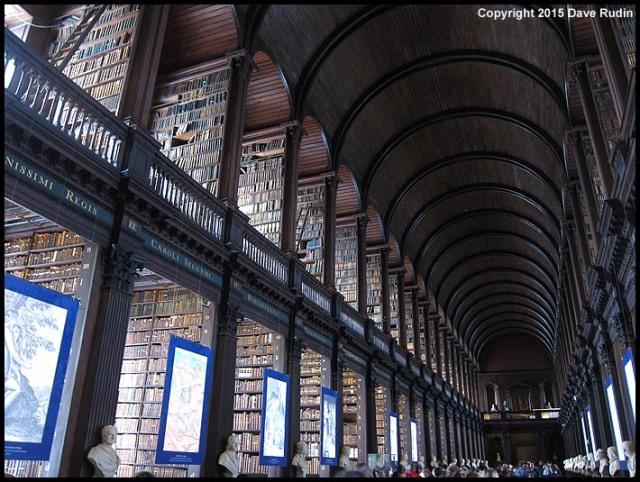 The Long Room, Trinity College Library, Dublin
