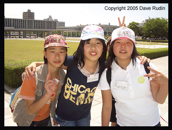 School kids in Hiroshima, 2005