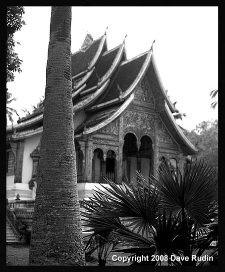 Pavilion at the Royal Palace, Luang Prabang, Laos, 2008