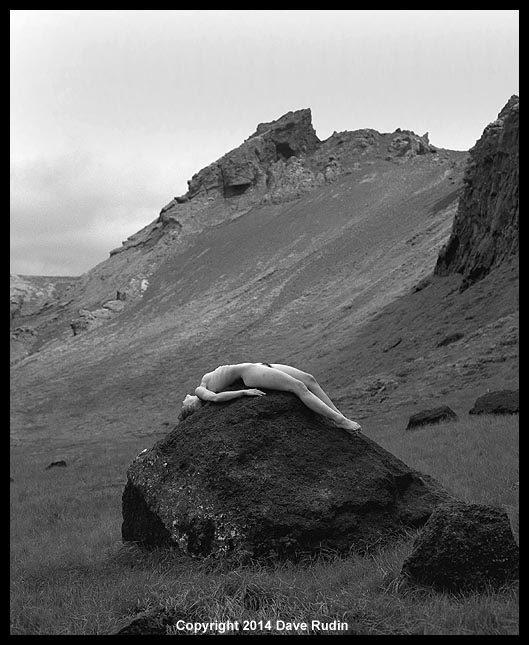 """Nude, Iceland, 2014"" with Nadine"