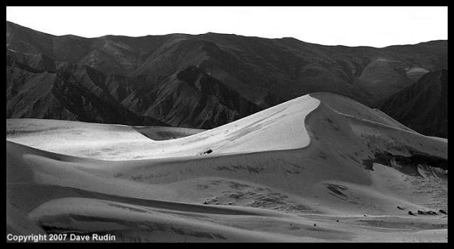 Sand Dune near Samye Monastery, Tibet, 2007