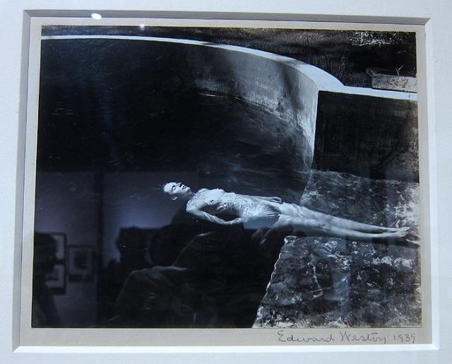 Vintage nude by Edward Weston at Scott Nichols Gallery