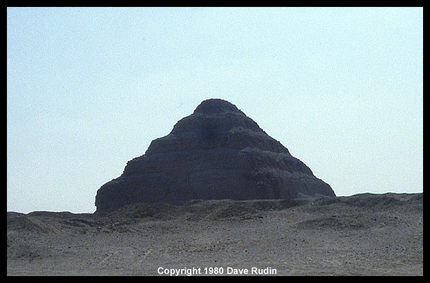 Egypt's first pyramid: the Step Pyramid of Djoser at Saqqara