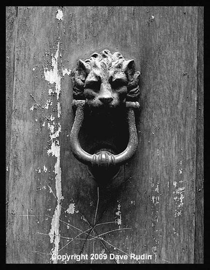 Door Knocker, Rome, 2009