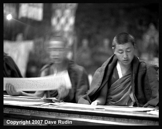 Monks, Samye Monastery, Tibet, 2007