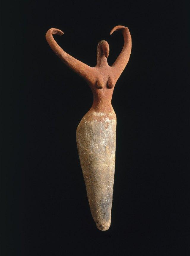 Pre-dynastic Egyptian figure, c. 3500 BCE