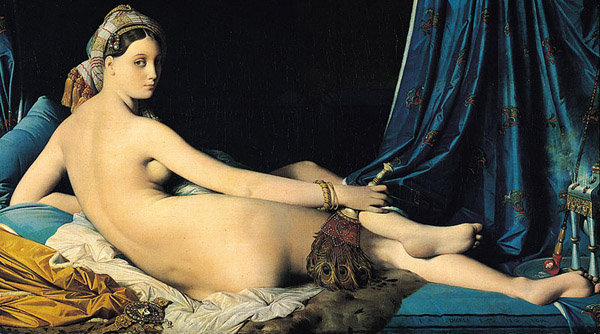 """""""La Grande Odalisque"""" by Ingres"""