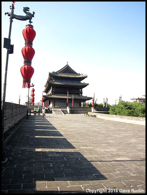 City Wall, Xian, 2016