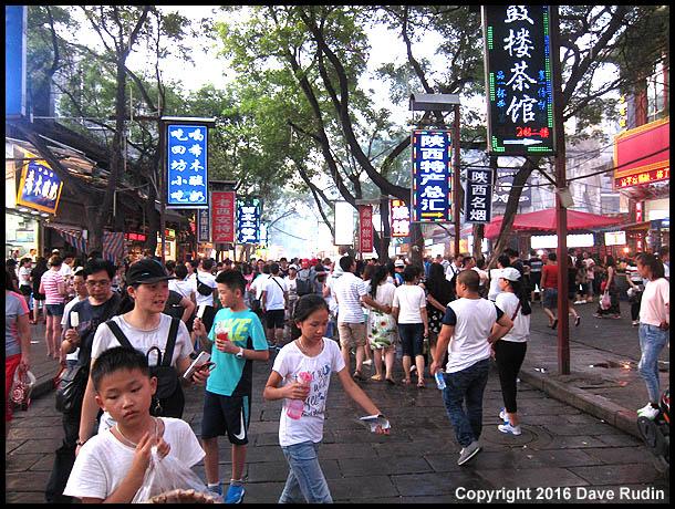 Hui Market, Xian, 2016