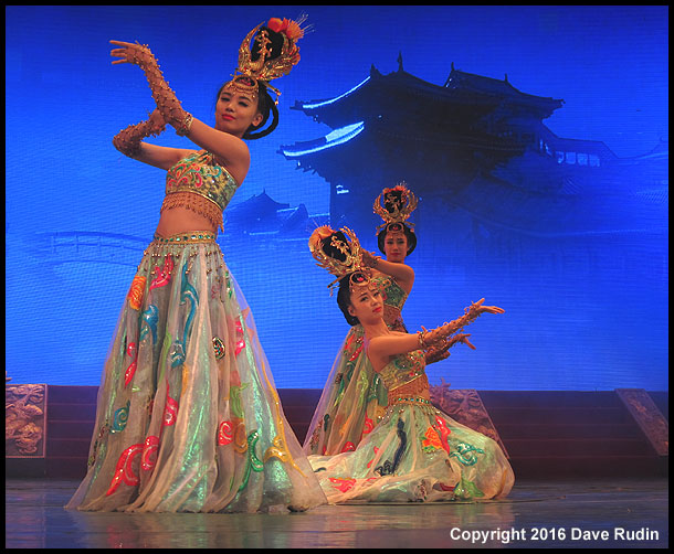 Tang Dynasty Show, Xian, 2016