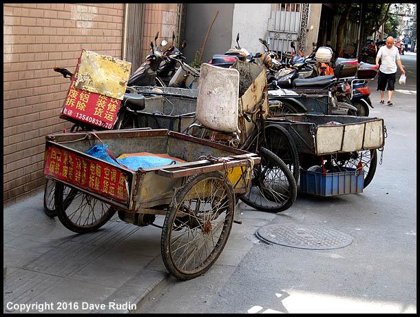 Carts, Chengdu, 2016