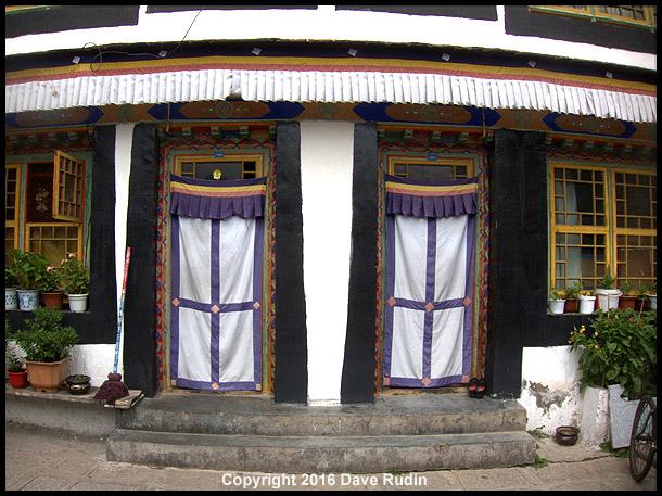 Palubuk Temple, Lhasa, Tibet, 2016