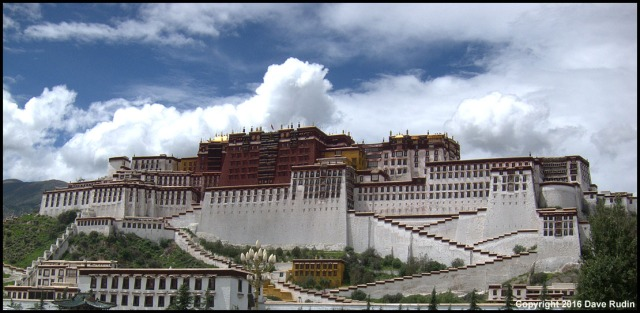 The Potala Palace, Lhasa, Tibet, 2016 (Click to see larger)