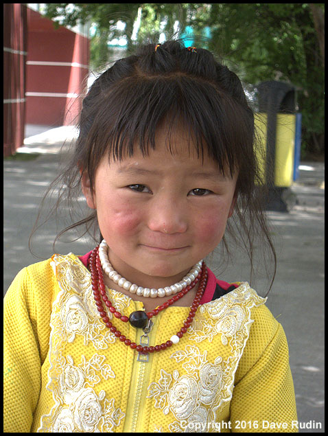 Adorable Face, Lhasa, Tibet, 2016