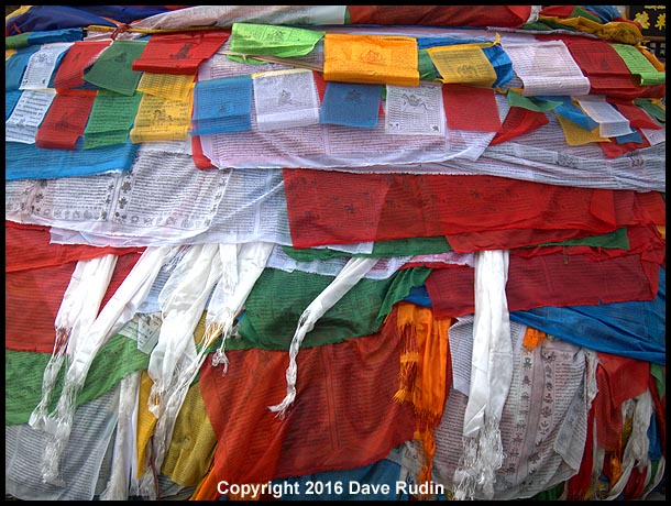 Prayer Flags, Lhasa, Tibet, 2016