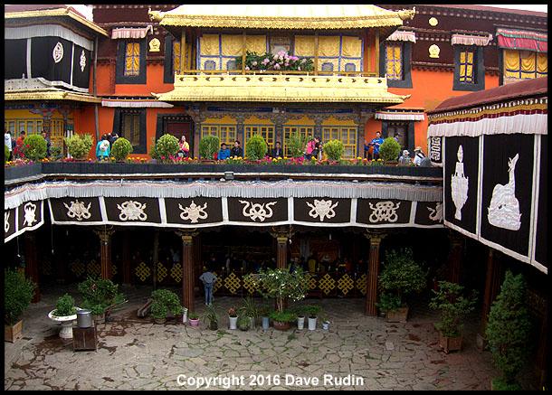 Interior Courtyard, Jokhang Temple, Lhasa, Tibet, 2016