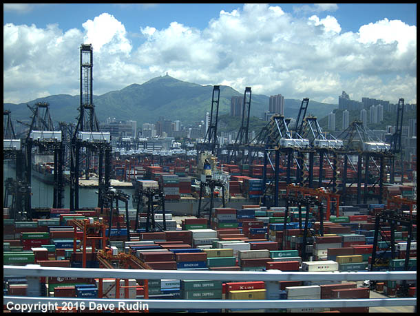 Container Port, Hong Kong, 2016