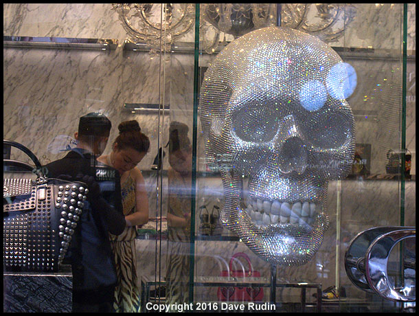 Skull Fashion, Hong Kong, 2016