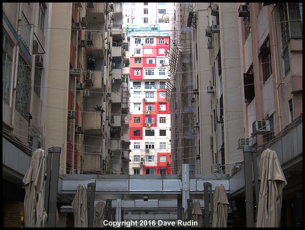 Red and White, Hong Kong, 2016
